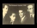 Dvorak American Quartet (Budapest Quartet, 1940)