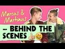 Marcus Martinus på besøg hos Vi Unge | Behind the Scenes