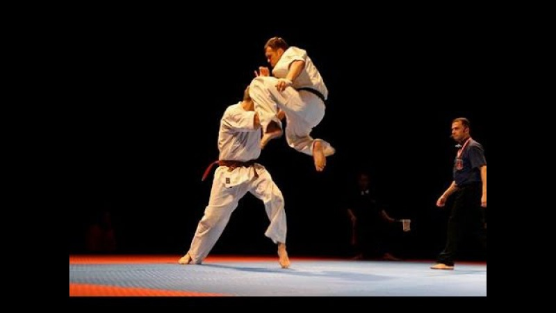 Best moments of Kyokushin karate 1990-2016