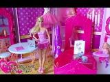 Видео с Барби, Делаем блестящую открытку на День рождения для Машеньки