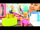 Куклы и игрушки для девочек Барби и подарки на новый год. Новогодние видео про игрушки на ютуб