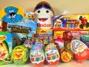 30 Surprise Eggs,Киндерино Пилот,Киндер Сюрпризы Суперсемейка,Майнкрафт 2 серия,Маша и Медведь,тачки