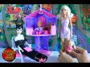 Видео с куклой Барби, Барби привела Челси в гости к Рапунцель и Челси сделала подарок Малефисенте