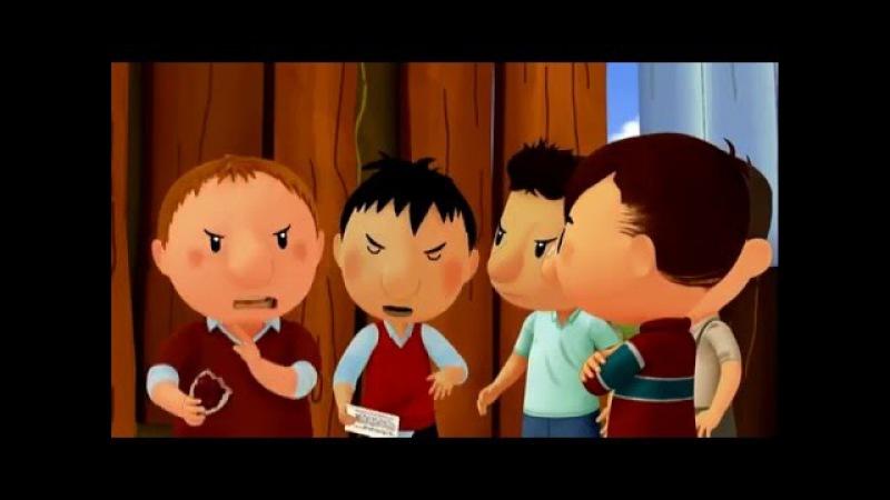 привет я николя обычный мальчик 19 серия Тайное послание Мультики и мультфильмы для детей