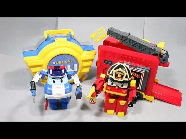 мультфильмы про машинки Робокар Поли Игрушки 로보카폴리 로이 장난감 Robocar Poli Toys