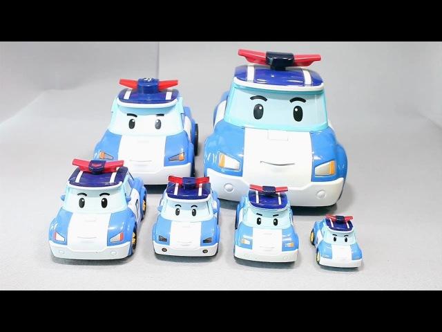 мультфильмы про машинки Робокар Поли Игрушки 로보카폴리 모음 장난감 Robocar Poli Toys