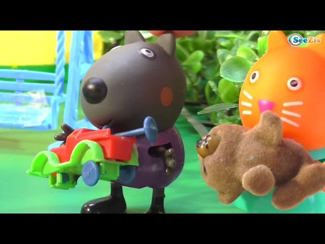 Peppa Pig - Свинка Пеппа и Джордж Мультфильмы для детей - Истории игрушек