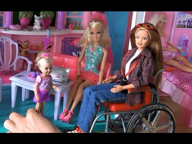 Видео с куклами Барби, серия 425, Грустный день Бекка уезжает но обещает вернутся