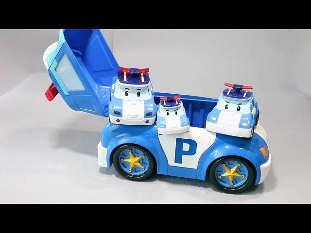 мультфильмы про машинки Робокар Поли Игрушки 로보카폴리 케이스 및 장난감 Robocar Poli Toys