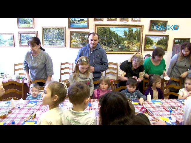 В культурно-выставочном центре детей поздравили с праздниками.