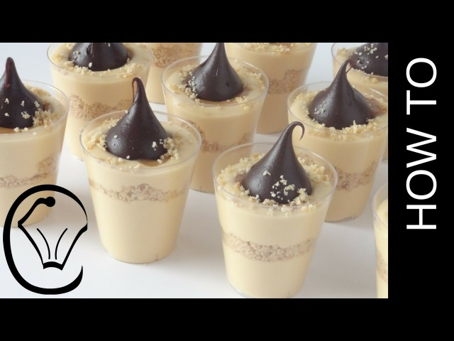 Mini Caramel Cheesecake Cups with Chocolate Truffles by Cupcake Savvys Kitchen
