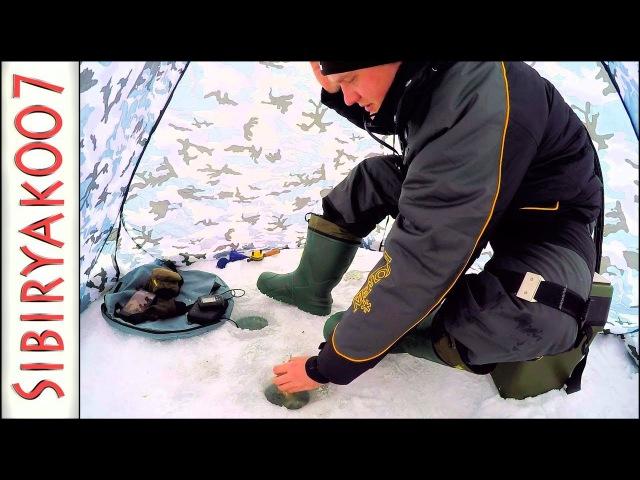 Адская мормышка СПАСЛА рыбалку! .. Зимняя рыбалка. Ловля плотвы на Чёртик и сырный кубик с леской AKKOI