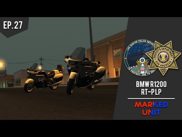SASD LSPD | BMW R1200 RT-P LP | Improved Vehicle Features