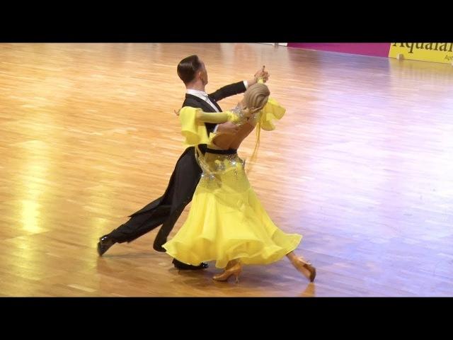Evgeny Moshenin - Dana Spitsyna RUS | Finnish Open 2018 | SF