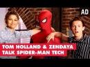 Zendaya Tom Holland Talk Spider Man Homecoming Oh My Disney