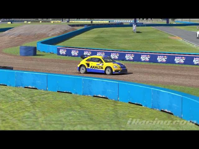 IRacing VW Beetle GRC practice TV-cam
