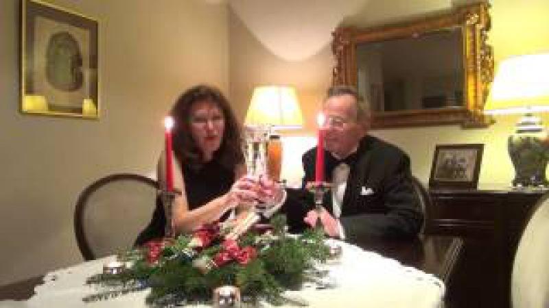 Silvester Grüße der Familie Alla und Hartmut Pantosky aus Deutschland