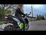 Электрический скутер BMW C-Evolution  обзор и покатушка