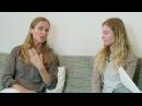 Bernadette und Christina von Dreien Zwillinge als Licht geboren Teil 1