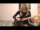 ВОТ ЭТО КРУТО Девушки тоже могут играть на электрогитаре