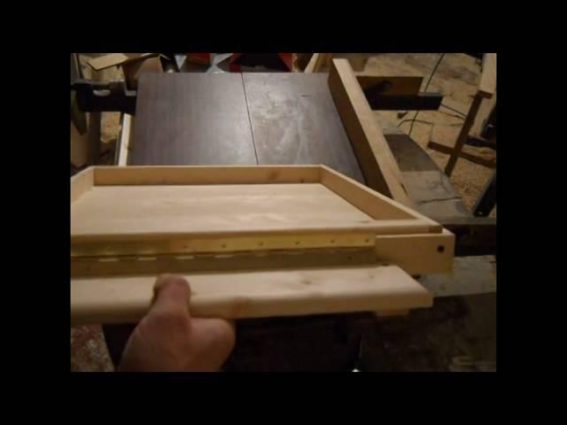 как делать простое дно улья на 11 рамок.how to make the bottom of the hive with 11 frames