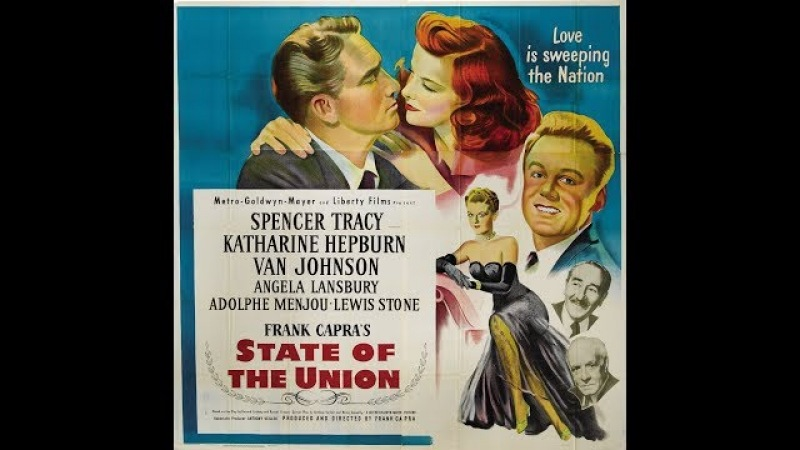Драма Состояние единства (1948) Spencer Tracy Katharine Hepburn