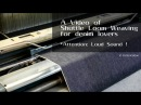 シャトル織機の動画 [字幕あり]. A Video of Shuttle Loom Weaving, filmed at the Weaving Mill of JAPAN BLUE Co.