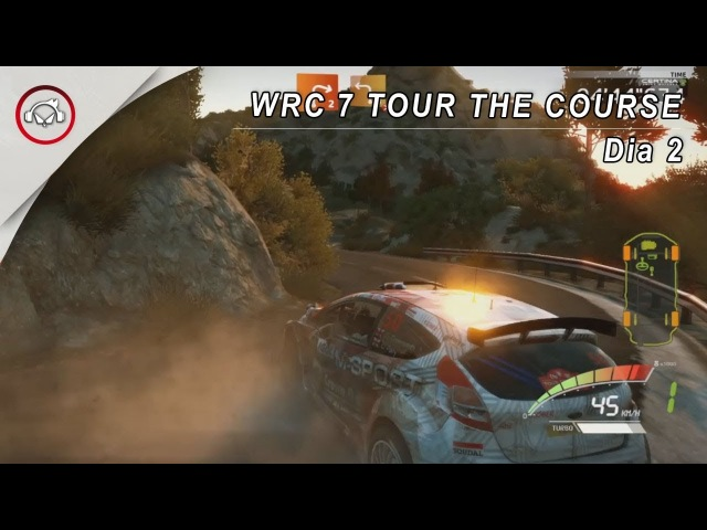 WRC 7 TOUR THE COURSE 1 GAMEPLAY @1080p (30ᶠᵖˢ) FULL HD ✔ PT-BR