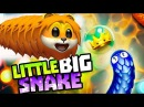 Little big snake ОГРОМНАЯ ЗМЕЯ в игре приключения мульт героя Веселый Летсплей сражения змей от SPTV