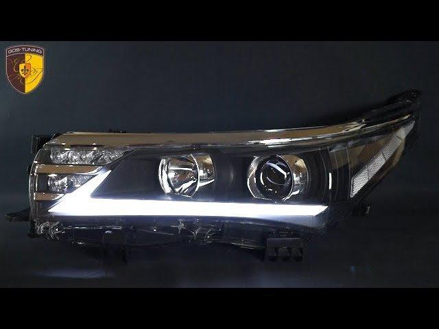 Тюнинг фары Тойота Королла Headlights Toyota Corolla E160 E170 Lexus Style