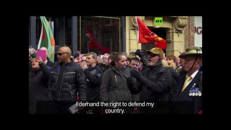 UK Media Blackout - Veterans march Against Terrorism and Islamization