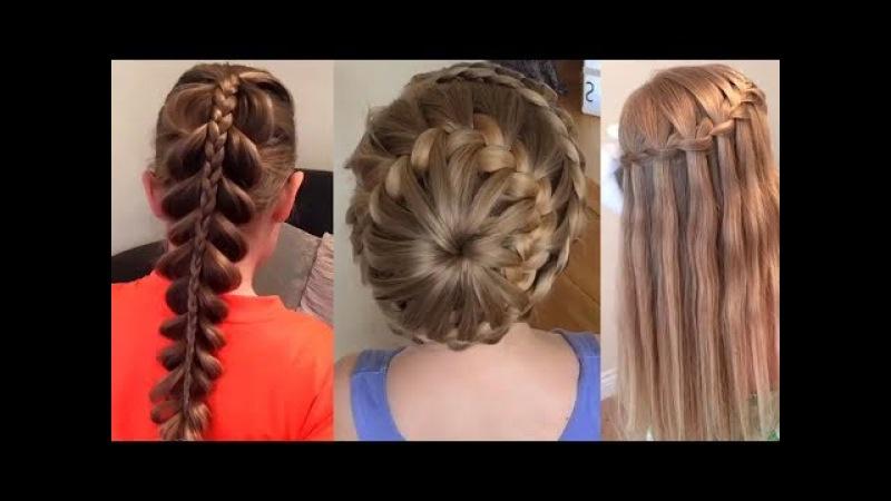 Peinados Fáciles para Niña Tutorial / Easy Hairstyles for Girls Tutorials
