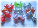 МК Крошечные бантики 6 5 см 🎀 Curvaturas minúsculas Tiny bows