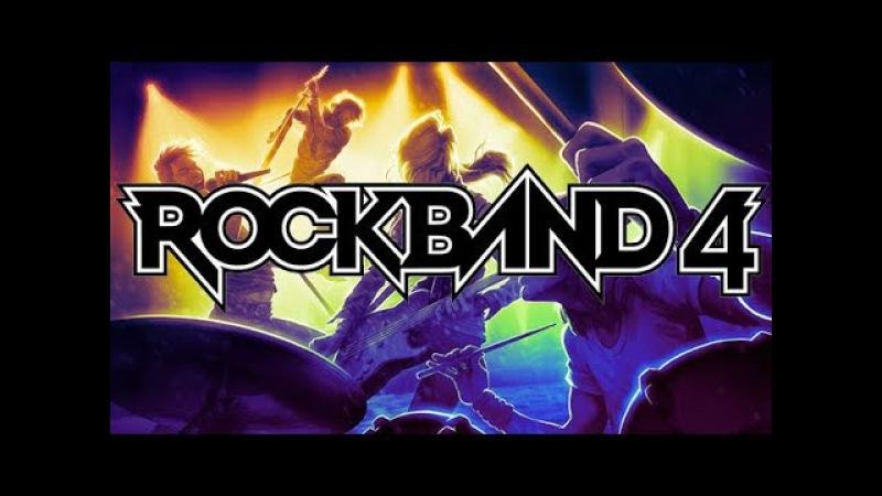 4 часа RockBand 4 в студии Игромании.