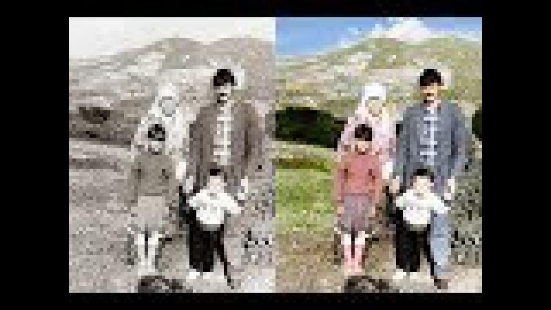 Eski Siyah Beyaz Fotografı Renklendirme| Photoshop Eğitimi