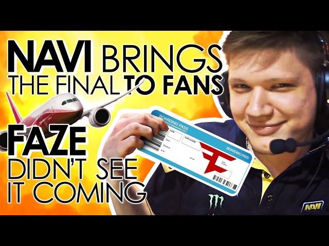 NAVI brings fans the finals