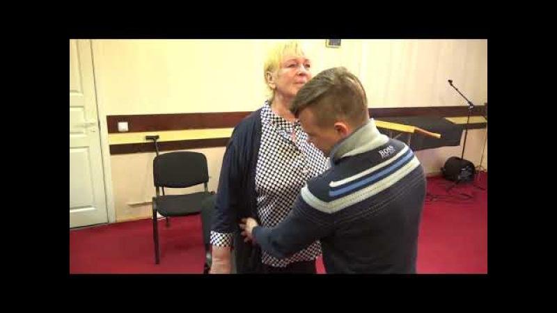 Rīgā ar Ruslanu Bogalubimij no Ukraina lūgšanas