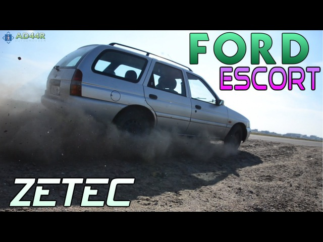 Обзор Ford Escort, ZETEC 16valve/1.8i., 1998 [№7. AD44R]