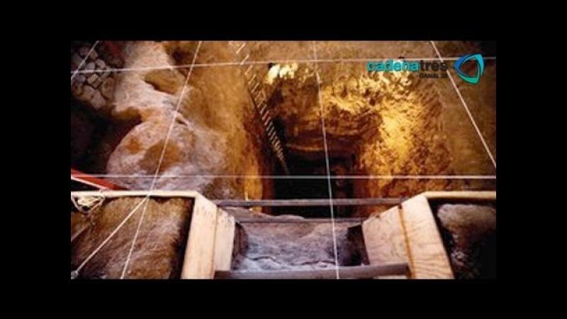Robot del IPN descubre tres cámaras ocultas en el Templo de la Serpiente en Teotihuacan