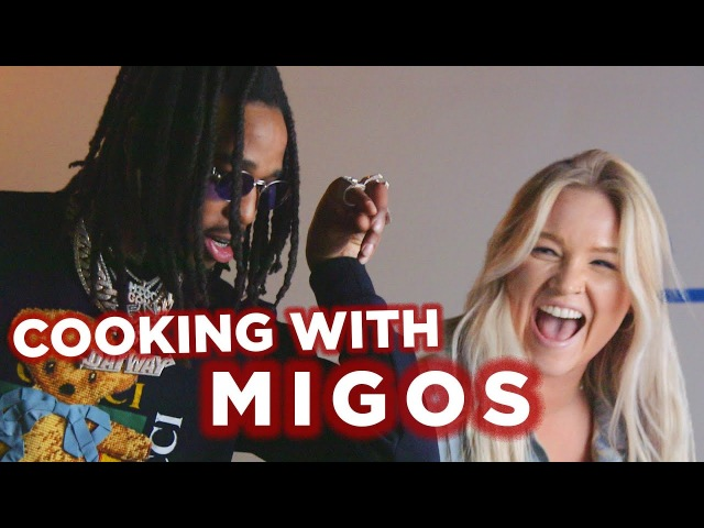 Migos Makes Stir Fry With Tasty (Behind The Scenes) [WideTide]