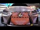2017 Lexus IS350 LIT/S 41999 LED Covered Custom Car - Walkaround - 2017 NY Auto Show