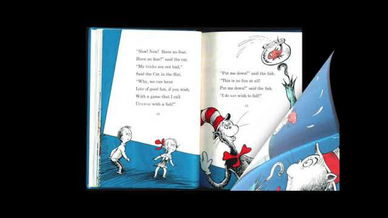 The Cat in the Hat by Dr. Seuss I Read Aloud Picture Book