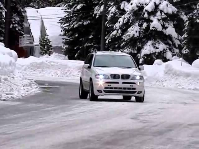 BMW X5 DRIFT TEST FAILED!