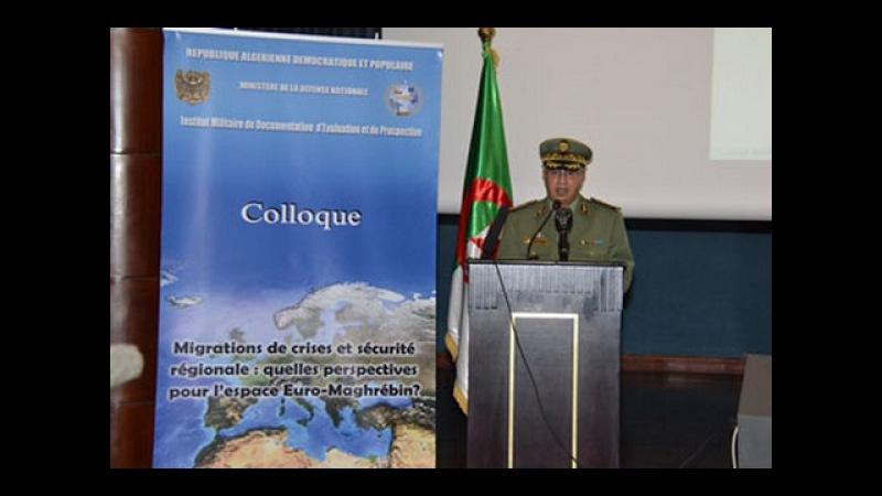 Algérie colloque sécurité régionale dans l'espace Euro Maghrébin