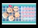 Cabecinhas em Biscuit 5 Modelos INICIANTES E INTERMEDIÁRIOS