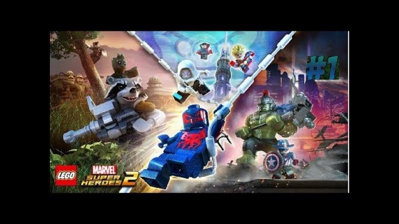 1 прохождение игры Lego Marvel Super Heros 2