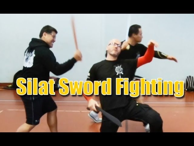 Silat Suffian Bela Diri - Malay Machete (Sword) Fighting