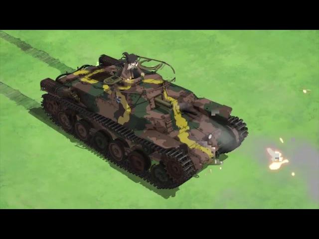 Girls und Panzer best coub Девушки и танки