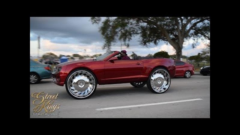 Orlando Classic 2017 Car Show, Cruising the Strip Night Party (Sunday)