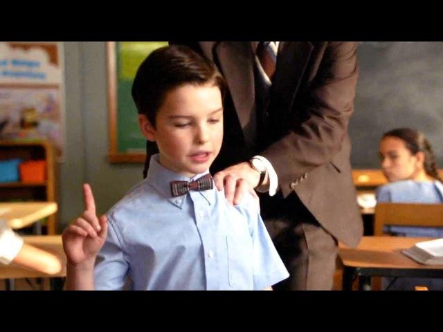 Young Sheldon Episode 1x11 Sheldon Pisses Teacher At Sunday School Off